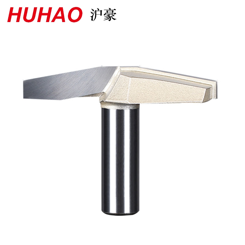 Professional 10Deg 1/2 Shank 1/2*2-1/2 Clear bottom knife Router Bit Woodworking Cutters Classical Plunge Bit  HUHAO 6649 1 2