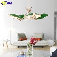 FUMAT Modern Chandelier Lighting Metal Lustre Lamparas Colgante Lamp For Bedroom Dinning Room Luminaria Indoor Light