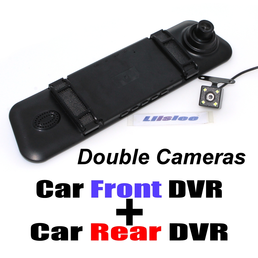 Car BlackBox DVR Dash Camera Driving Video Recorder Front Rear Double Camera DVR For Renault Clio Megane 2 3 4 Twingo Laguna Vel