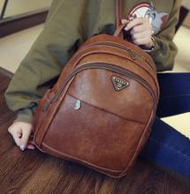 2016 осенью новый ретро качество ИСКУССТВЕННАЯ кожа плеча сумку Женщины сумку Британский институт Моды ветер школьный большой мешок емкость