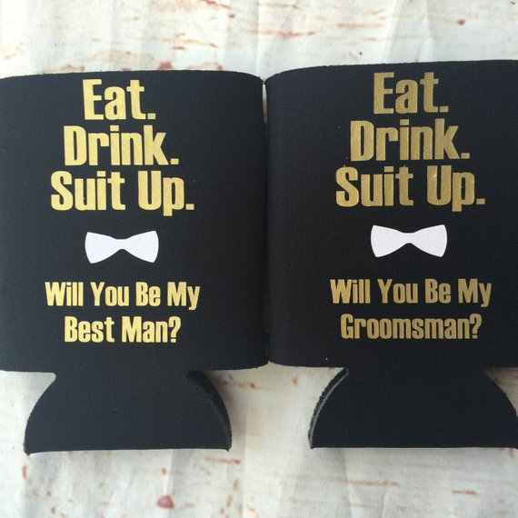 personalize text wedding groomsman
