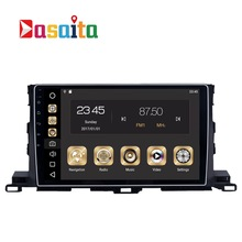 2 din Car Radio GPS Android 8.0 For Toyota Highlander 2015 2016 2017 Highlander Car Radio GPS Navigation PX5 4Gb+32G Octa-Core