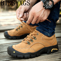 BTKSYXGS 2017 Men S Flats Casual Shoes 100 Genuine Leather Outdoor Fashion Breathable Non Slip Cowhide