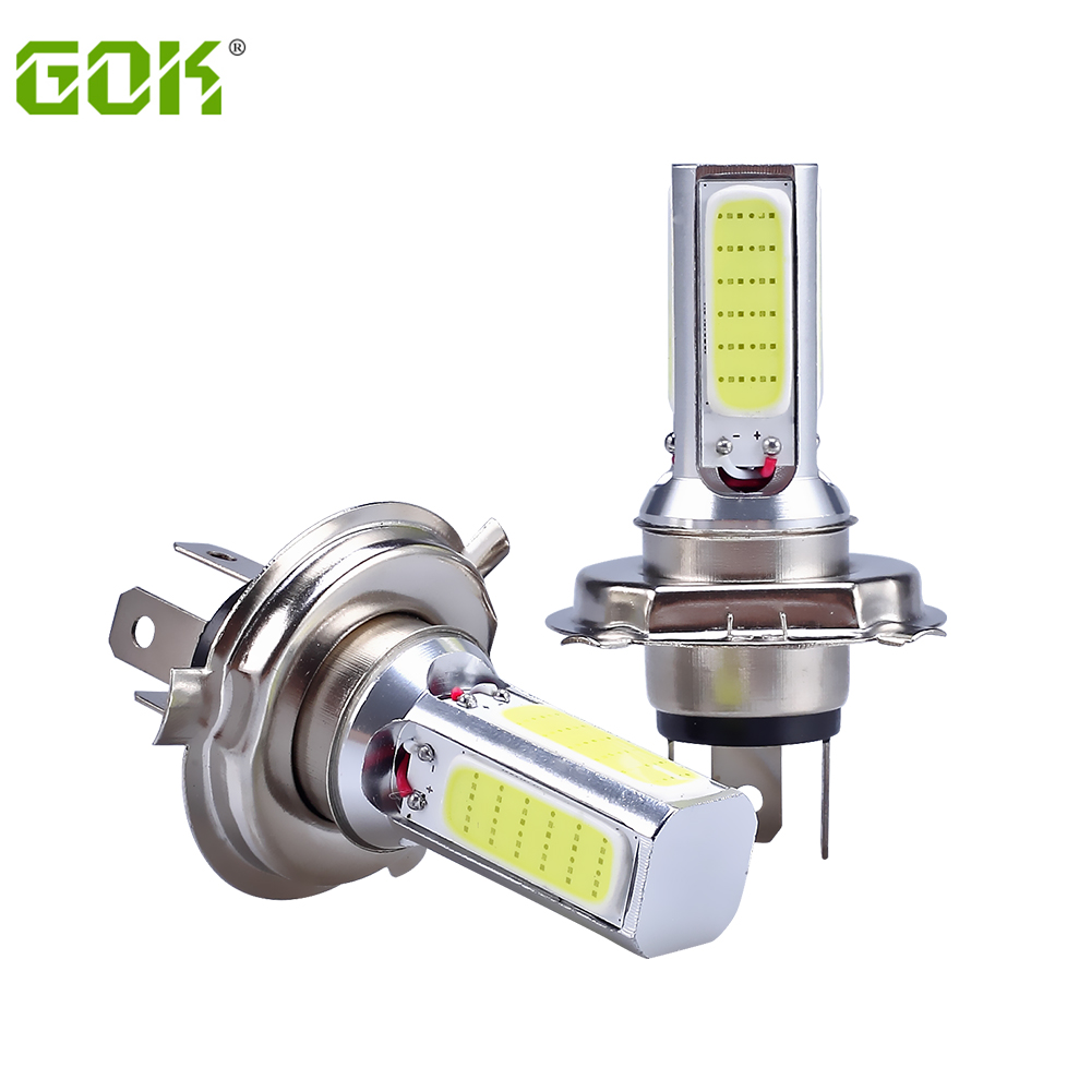 10X Автомобильный светодиодный H4 светодиодный COB h4 h11 h7 9006 9005 светодиодный автомобиля противотуманные фары автомобильная светодиодная лампа фары