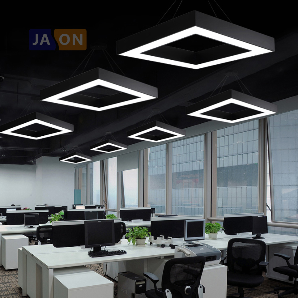 LED Nordic Iron Acrylic Square Black White LED Lamp LED Light.Pendant Lights.Pendant Lamp.Pendant light For Dinning Room OfficeLED Nordic Iron Acrylic Square Black White LED Lamp LED Light.Pendant Lights.Pendant Lamp.Pendant light For Dinning Room Office