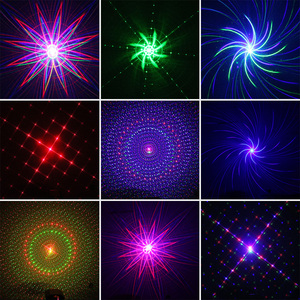 Image 4 - ALIEN Remote USB 8 Patterns RGB Mini Laser Projector Stage Lighting Effect Light Car Party DJ Disco Club Xmas Family Light Show