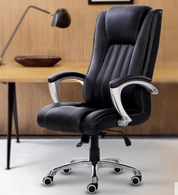 High Quality High Density PU Material Ergonomic Office Chair Gaming Computer Chair  Swivel Lifting Adjustable Lengthen Backrest