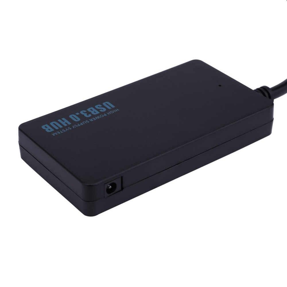 2019 الأزياء 4-ميناء رقيقة جدا تصميم واضح USB3.0 إشارة فائقة السرعة 5 جيجابايت في الثانية Hub يدعم ويندوز xp /فيستا/7/8/10 و ماك OS
