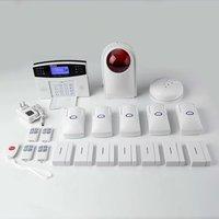 Sistema de alarma GSM inalámbrico con botón de sirena estroboscópica SOS