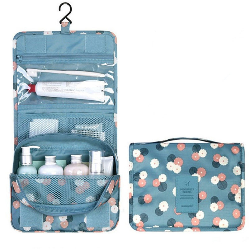 Yesello Travel set High quality waterproof portable man toiletry bag women cosmetic organizer pouch Hanging wash bags цена