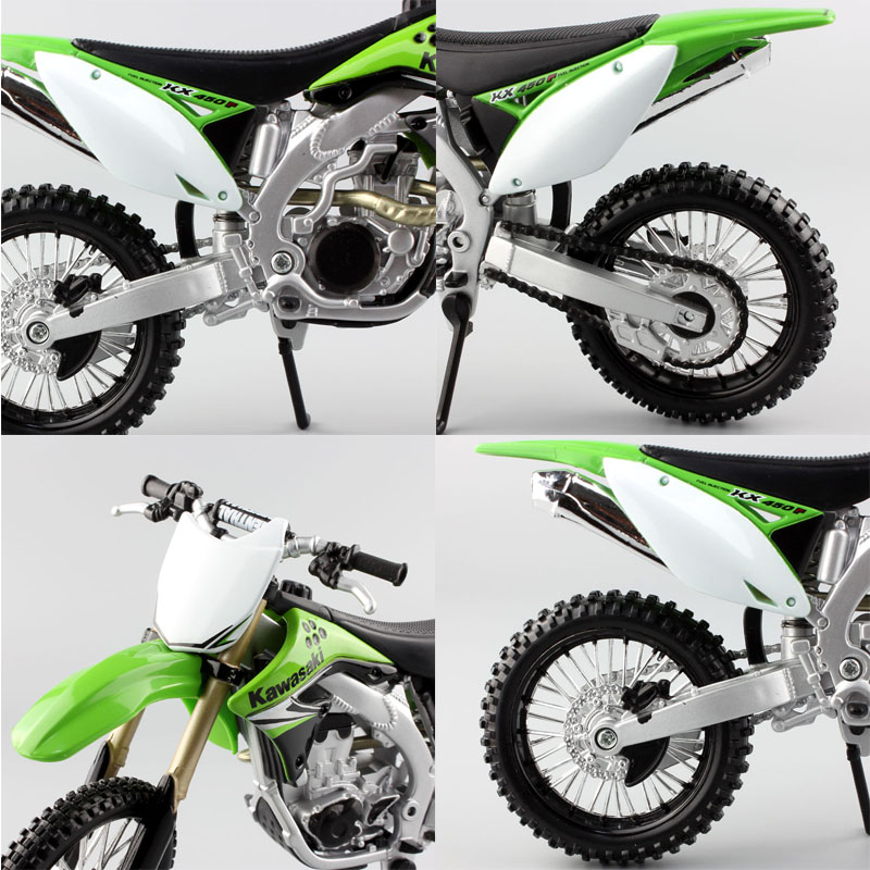 Image result for KAWASAKI KX450F dirt motocross Enduro bike scale Motorcycle toys diecast model