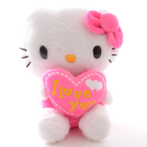 "Valentine's Gift ""I Love YOU"" Letters Pink Hello Kitty ...