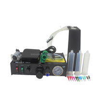 1pc Semi-Automatic Glue Dispenser Machine Solder Paste Liquid Controller FT-982