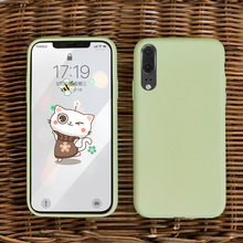Soft TPU Case for Huawei P20 P30 Pro Case Milk Smooth Touch Silicone Cover for Huawei P30 Lite Mate 20 Pro Honor 8x Nova 3i Case цена и фото