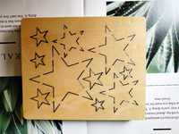 Scrapbook Cut Sky Pendant star cut accessories wooden die Regola Acciaio Die Misura , MY
