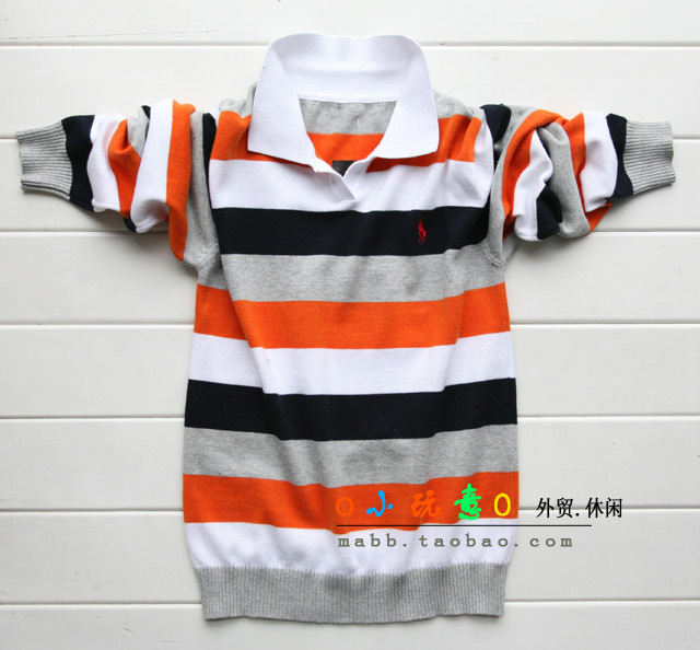 knitting thin line children sweater small and medium large children's clothes boy autumn outfit 2017 new autumn sweater