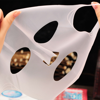 Reusable Silicone Mask Cover Face Skin Care Hydrating Moisturizing Mask For Sheet Prevent Evaporation Steam Beauty Tool image