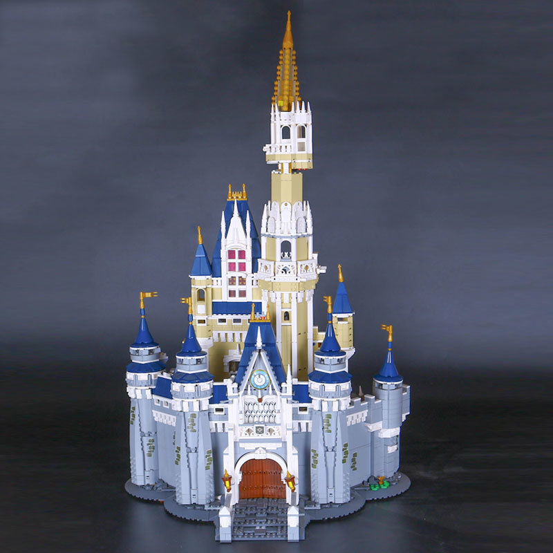LEPIN 16008  Cinderella Princess Castle City Model Building  Block Kid Toy Compatible with 71040 lepine 16008 cinderella princess castle 4080pcs model building block toy children christmas gift compatible 71040 girl lepine