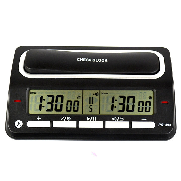 1 magideal unids International Chess Competition Game wind up Count up down wind up Chess Clock Timer - Hiking Camping Birthday