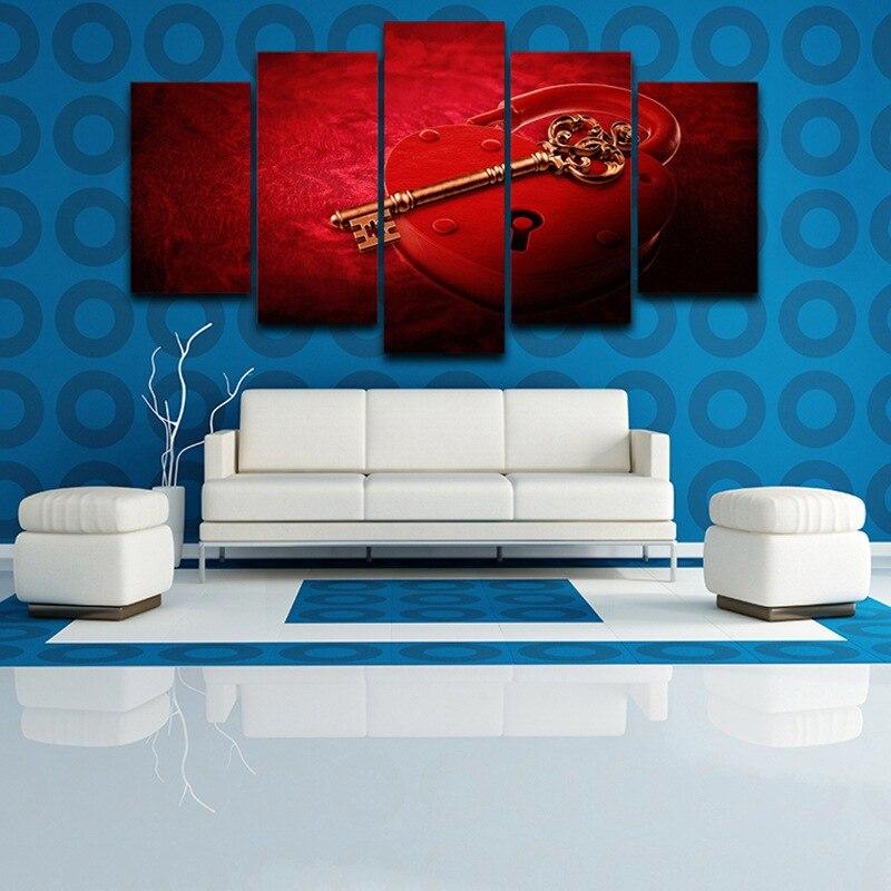 Enmarcado arte de la pared cuadros impresión artística pintura sobre ...