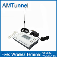3G Fixed Wireless Terminal UMTS WCDMA2100Mhz FWT With LCD Display For Connecting Desktop Phone Or PBX