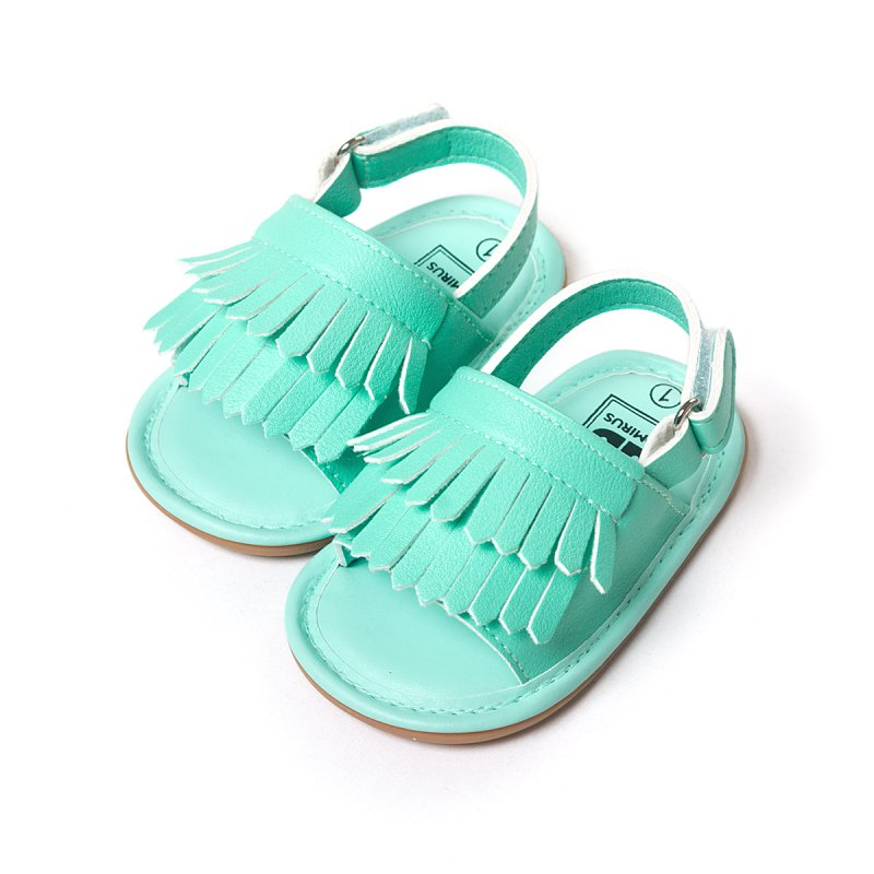 Summer Style Baby Moccasins Soft Bottom Fringe Candy Color Girls Toddler Shoes Baby Slippers Girls Boys Prewalkers New