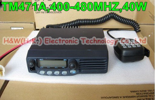 TM-471A UHF 400-480MHz FM Car Two Way Radio Transceiver for Taxi/Wholesale Retail TM471A