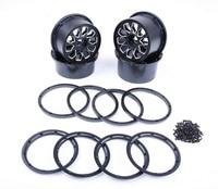 Alloy wheel hub set for baja 5B Metal Alu Wheel Hubs with beadlocks set