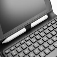 case ipad 7 Color Backlight Case for iPad Mini 5 Mini 4/iPad Mini 2019 Tablet Bluetooth Keyboard Leather Case Set with Bracket Pen Holder (4)