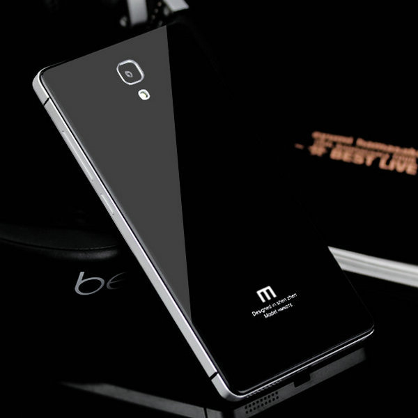 buy online 79f6a 25c06 US $9.88  For Xiaomi Redmi Note 4G Aluminum Metal Tempered Glass Battery  Cover Case For Xiaomi Red Rice Hongmi Redmi Note 5.5