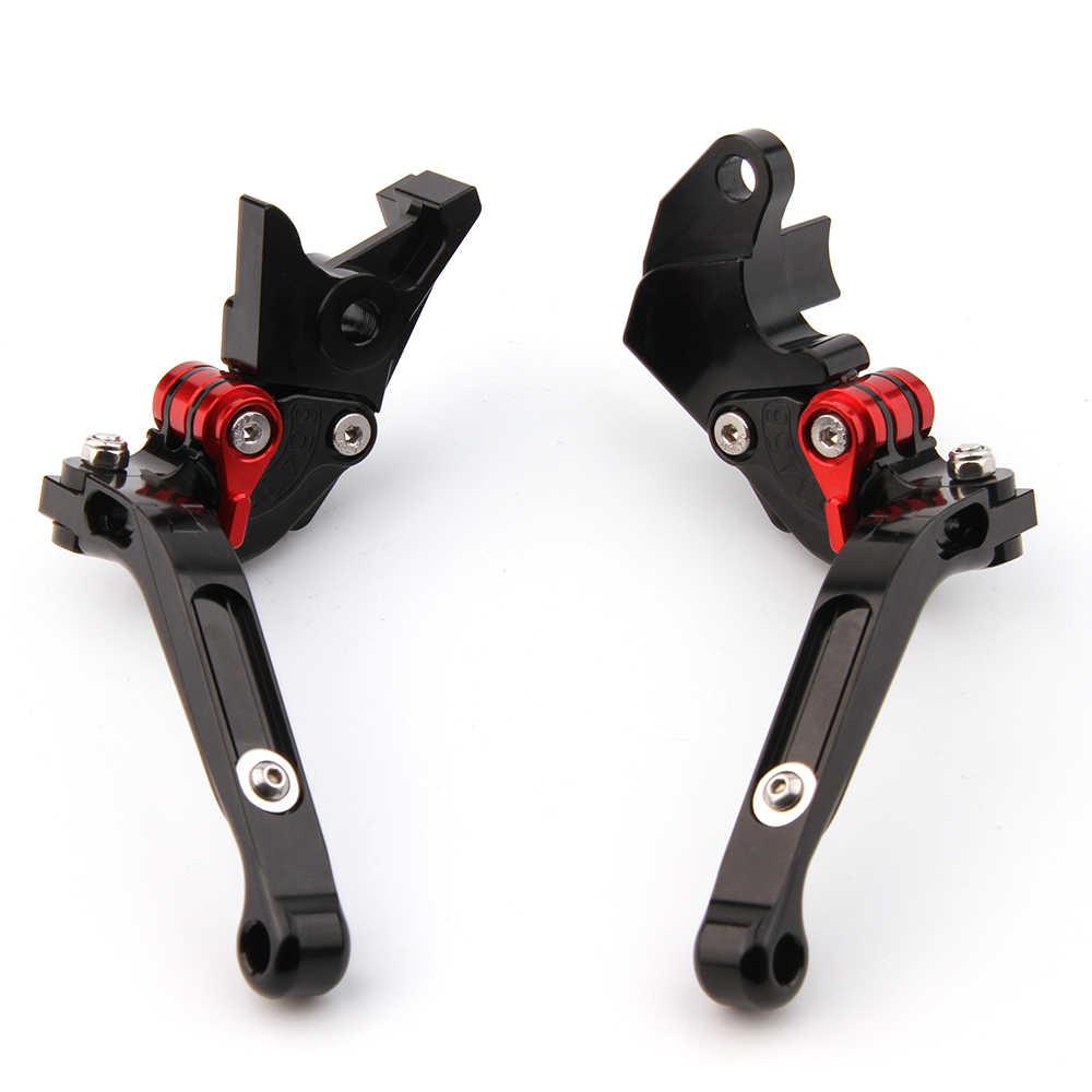 CNC рычаги для Ducati Scrambler Кафе Racer 2017 Мотоцикл Регулируемые Складные Выдвижные Тормозные Рычаги Сцепления
