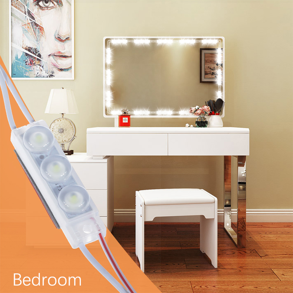 Diy Hollywood Style Led Mirror Light Touch Dimmer