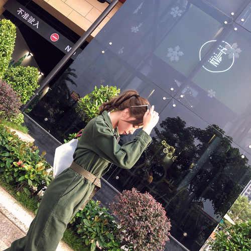 Новинка 2019, Европейский джинсовый комбинезон, ковбойский винтажный рваный Рабочий костюм, облегающий джинсовый комбинезон с курткой, Рабочий костюм