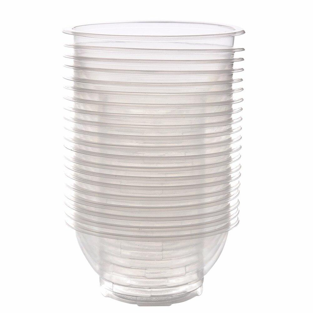 """5 10 20 50 Or 100 Black 4.7/"""" 12cm Square Disposable Plastic Bowls Party Event"""