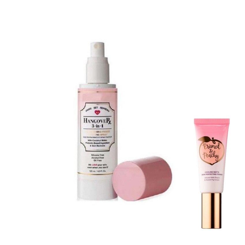 Gesicht Kosmetik 3 In 1 Primer Foundation Einstellung Spray Make-Up Mascara 24 Stunde Eye Primer Sex Mascara Schwarz