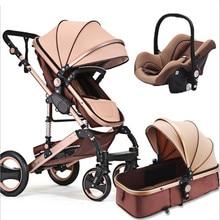 Stroller 3 in 1 certification 3 year warranty 2 in 1 baby stroller 0 3