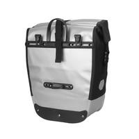 2018 Multifunctional Mountain Bike Bicycle Rear Carrier Bags Waterproof PVC Rear Pack Trunk Pannier Bike Accessories