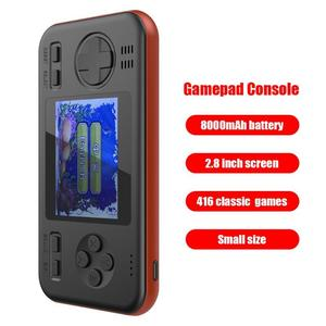 Image 3 - Handheld Game Console Retro Gaming Machine with 8000mAh Power Bank Buil in 416 Classic Games Game Playing Toys