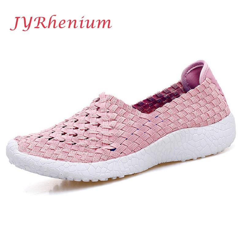 JYRhenium 2017 Breathable Mesh Women Light Sneakers font b Running b font Shoes For Women s