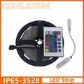 5M/Roll 3528 SMD Waterproof led tape 60LEDs/M 300 LED DC12V White Warm White Blue RGB diode IP65 Flexible LED Strip Light bande