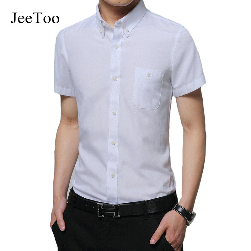 Online Get Cheap Fitted Short Sleeve Dress Shirts for Men ...