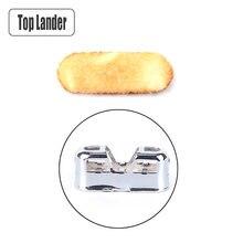 Chauffe-mains de poche universel, 2 pièces, accessoire chauffant, catalyseur spécial pour chauffage ultraléger, épaisseur 1.5mm