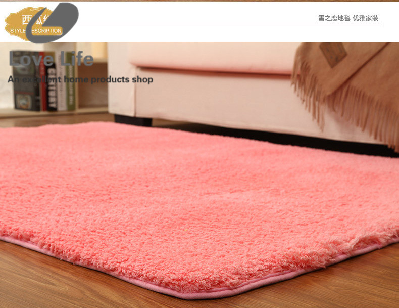 New Comfort Plush Non Slip Bath Mat Dust Badmat Absorbent