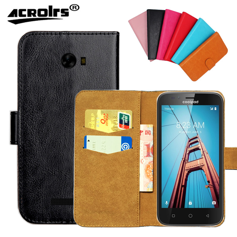 Original ! Coolpad Defiant Case ,6 Colors High Quality Leather Exclusive Case For Coolpad Defiant Cover Phone Bag Tracking ...