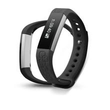 Алюминиевый сплав браслет Micro K спортивный браслет динамический HR монитор смарт-браслет для Facebook WhatsApp сообщение предупреждения Fit полосы