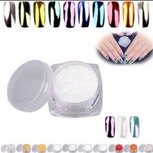 2g DIY Shinning Mirror Powder Nail Metal Nail Art Tip Decor Glitters Dust