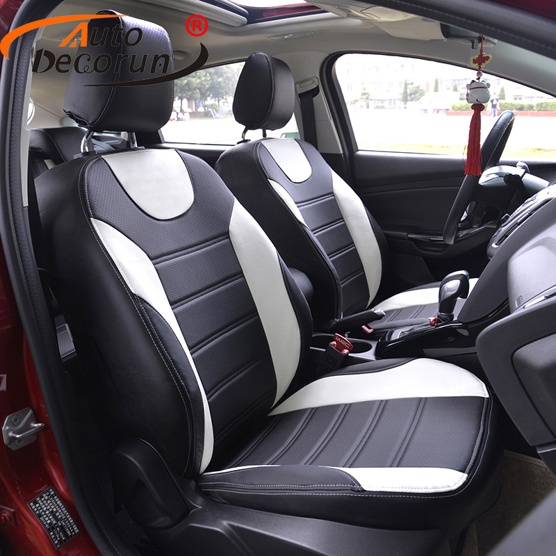 AutoDecorun 14 PCS/set seat cover for Renault Talisman seat cushion sets cars accessories PU leather car seats supports covers