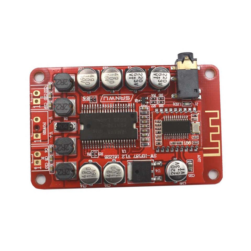 Class D Dual Channel Stereo Bluetooth 3.5Mm Digital Amplifier Board For Yamaha 2X10W Dc8 14V A6 014