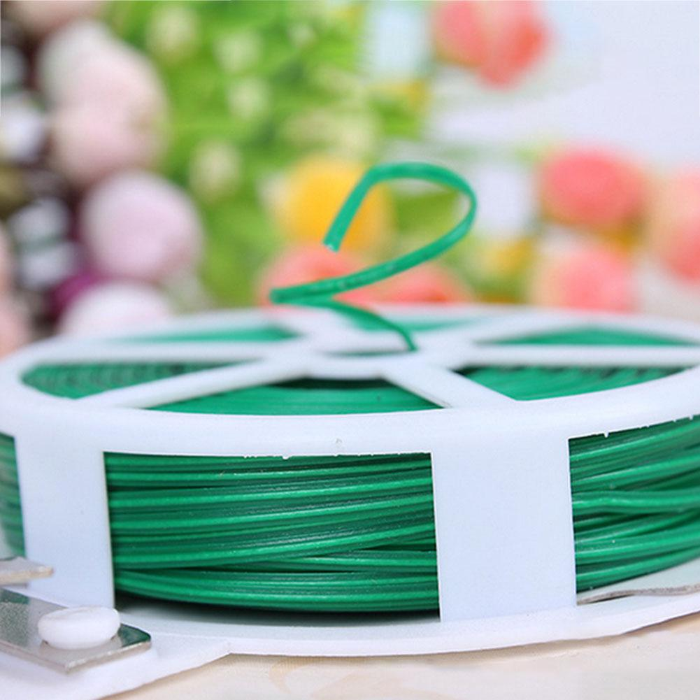 AsyPets 50M Tied Rope/15M Disk Rope Vines Fastener Binding Wire Plant Vegetable Grafting Fixer Agricultural Greenhouse Supplies