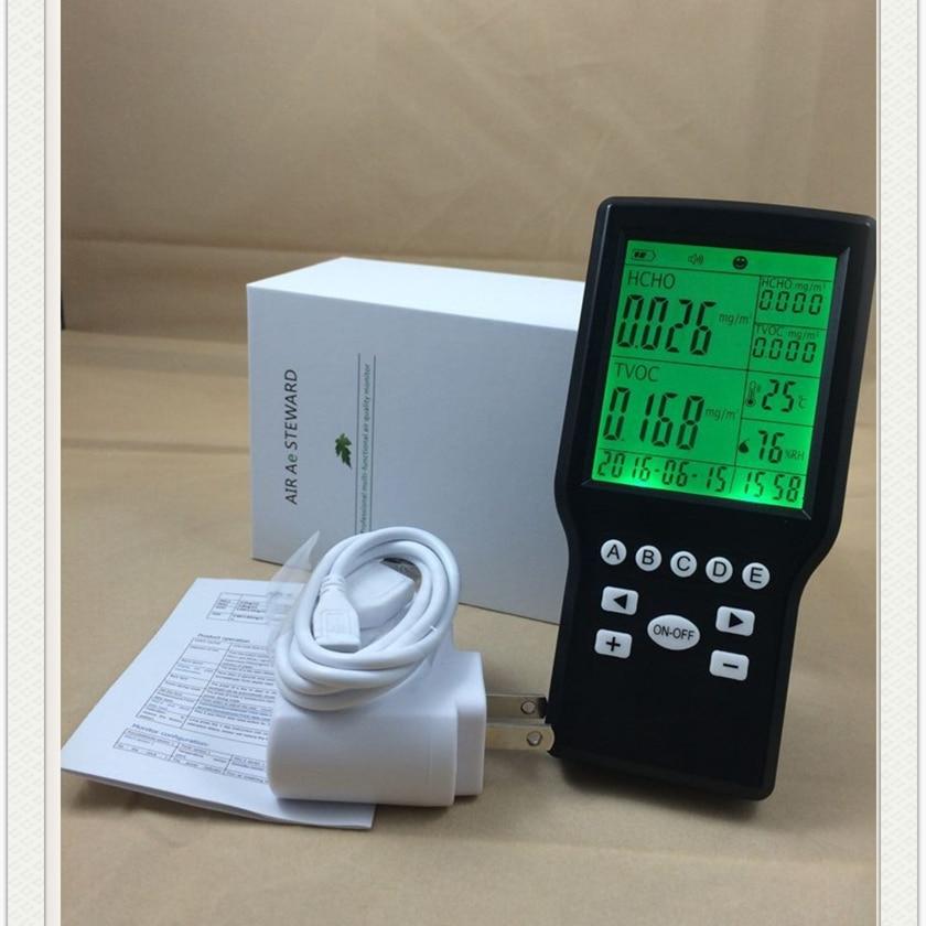 Handheld formaldehyde gas monitor TVOC gas detector